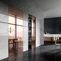 Marea | Concealed Sliding Door | Internal doors | Linvisibile