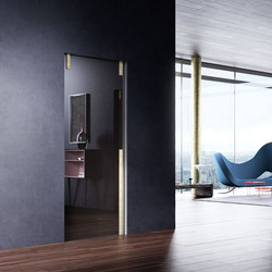 L'Invisibile pocket door | Internal doors | Linvisibile