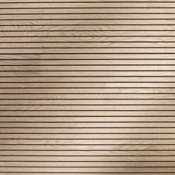 ACOUSTIC Oak white finger-jointed | Paneles de pared | Admonter