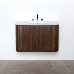 Giulia Undercounter Vanity GA130 | Vanity units | Lacava