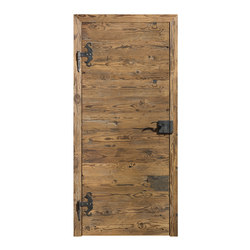 DOORs Reclaimed wood hacked H3 | Internal doors | Admonter Holzindustrie AG