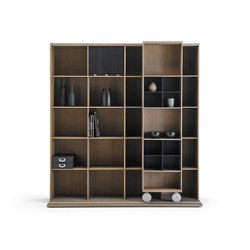 Literatura Light | Library shelving systems | Punt Mobles