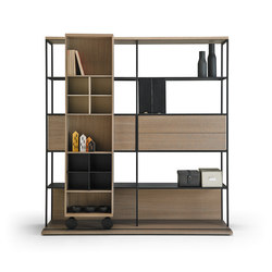 Literatura Open | Library shelving systems | Punt Mobles