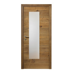DOORs Oak Lapis glass section | Porte per interni | Admonter