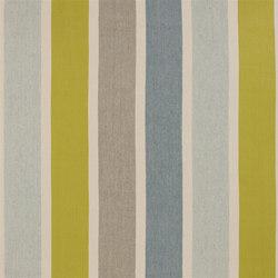 Nantucket Fabrics | Bridgeport - Aqua | Curtain fabrics | Designers Guild