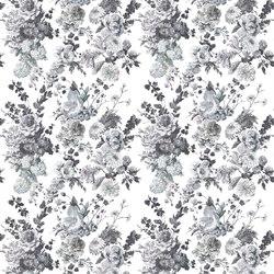 Orangerie Fabrics | Seraphina Ii - Charcoal | Tissus pour rideaux | Designers Guild