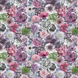 Orangerie Fabrics | Oriana Ii - Amethyst | Tissus pour rideaux | Designers Guild