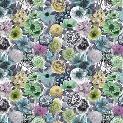 Orangerie Fabrics | Oriana Ii - Emerald | Curtain fabrics | Designers Guild