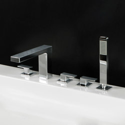 Eleganza Tub Filler 1832 | Bath taps | Lacava