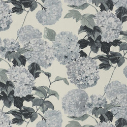 Pavonia Fabrics | Cassandra - Graphite | Curtain fabrics | Designers Guild