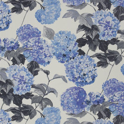 Pavonia Fabrics | Cassandra - Cobalt | Vorhangstoffe | Designers Guild