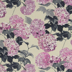 Pavonia Fabrics | Cassandra - Orchid | Curtain fabrics | Designers Guild