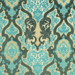 Phipps Fabrics | Cabriole - Turquoise | Vorhangstoffe | Designers Guild