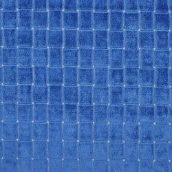Pugin Weaves | Leighton - Cobalt | Tessuti tende | Designers Guild