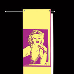 Sliding⎟Marilyn Monroe, half body | Internal doors | Casali