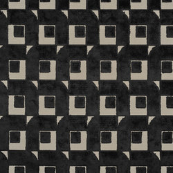 Pugin Weaves | Pugin - Noir | Curtain fabrics | Designers Guild