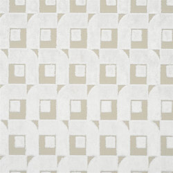 Pugin Weaves | Pugin - Chalk | Vorhangstoffe | Designers Guild