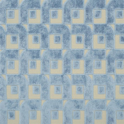 Pugin Weaves | Pugin - Sky | Curtain fabrics | Designers Guild