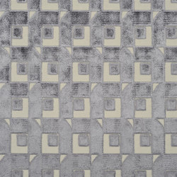 Pugin Weaves | Pugin - Slate | Tessuti tende | Designers Guild