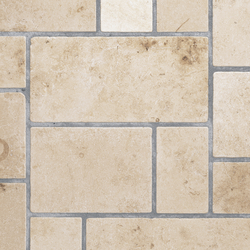 Jura Gelb Antik Chateau | getrommelt | Azulejos de pared de piedra natural | JUMA Natursteinwerke