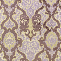 Racine Fabrics | Cabriole - Heather | Curtain fabrics | Designers Guild