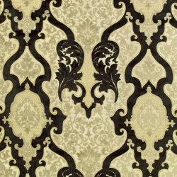 Racine Fabrics | Cabriole - Noir | Curtain fabrics | Designers Guild