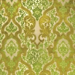 Racine Fabrics | Cabriole - Moss | Tissus pour rideaux | Designers Guild
