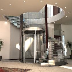 Cobra Glass Elevator   Staircase systems   Siller Treppen