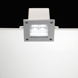 Ara Power LED / 125x125mm - Transparent Glass - Medium Beam 40° | Spotlights | Ares