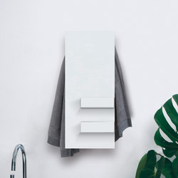 Geometrici towel warmer slim & shelves | Radiatoren | mg12