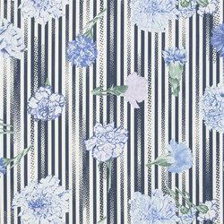 Air de Paris Fabrics | Incarnation - Marine | Vorhangstoffe | Designers Guild