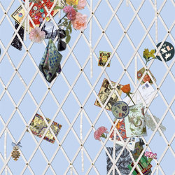 Air de Paris Fabrics | Souvenir - Ciel | Curtain fabrics | Designers Guild