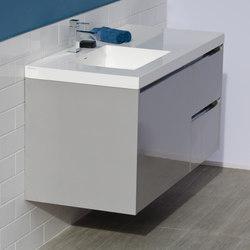 Kubista Undercounter Vanity | Meubles sous-lavabo | Lacava
