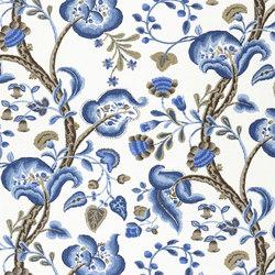 Alberesque Fabrics | Marlena - Indigo | Curtain fabrics | Designers Guild