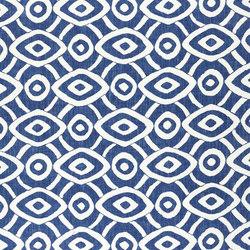 Alberesque Fabrics | Latea - Indigo | Curtain fabrics | Designers Guild