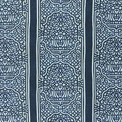 Alberesque Fabrics | Felix - Indigo | Tissus pour rideaux | Designers Guild