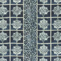 Alberesque Fabrics | Giocanta - Indigo | Tissus pour rideaux | Designers Guild