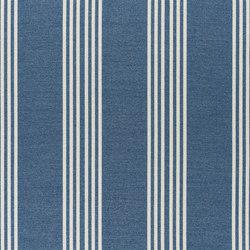 Alberesque Fabrics | Malantre - Woad | Tissus pour rideaux | Designers Guild