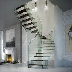 Londra | Glass stairs | Siller Treppen
