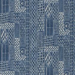 Astasia Fabrics | Khalana - Marine | Curtain fabrics | Designers Guild