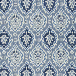 Astasia Fabrics | Saphia - Ocean | Tejidos para cortinas | Designers Guild