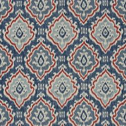 Astasia Fabrics | Saphia - Steel | Curtain fabrics | Designers Guild