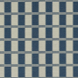 Astasia Fabrics | Acri - Denim | Tissus pour rideaux | Designers Guild