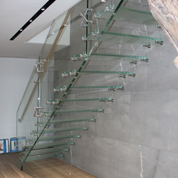 Mistral All glass | Glass stairs | Siller Treppen