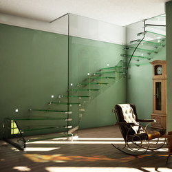 mistral All Glass Zug | Staircase systems | Siller Treppen