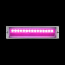 Camilla RGB Low Power LED / L 300 mm - Asymmetric/Symmetric Emission - Adjustable Optic | General lighting | Ares