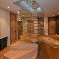 Glass wall staircase Mistral | Glass stairs | Siller Treppen