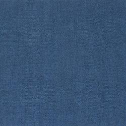 Atelier Camargue Fabrics | Coutil - Indigo | Tissus pour rideaux | Designers Guild