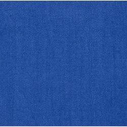 Brera Lino Fabrics | Brera Lino - Ultramarine | Tissus pour rideaux | Designers Guild