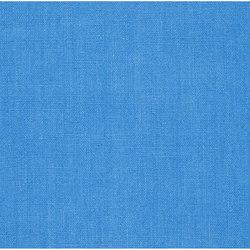 Brera Lino Fabrics | Brera Lino - Cobalt | Tissus pour rideaux | Designers Guild